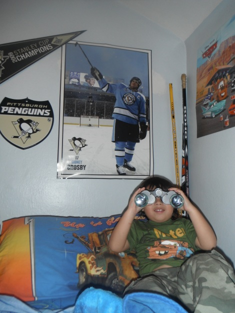 My Son Jordan on Crosby Watch