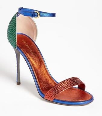 Sergio Rossi Ankle Strap Sandal