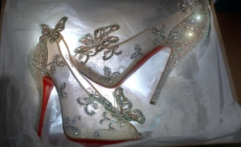 Glass Slipper Shoes