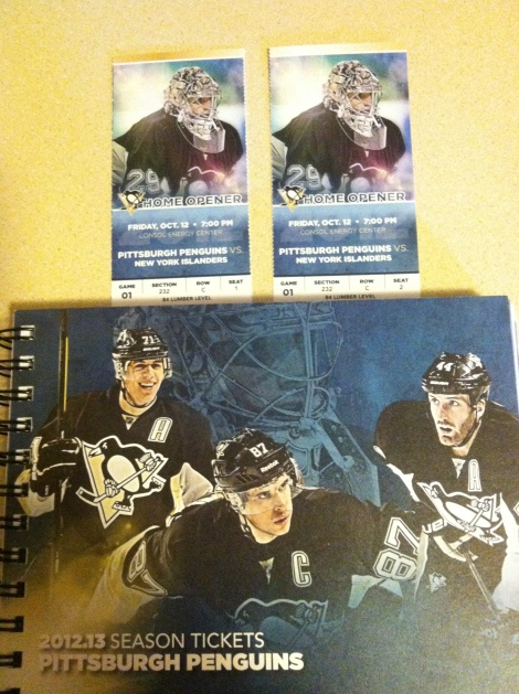 Erin DiPietro's Season Ticket Package